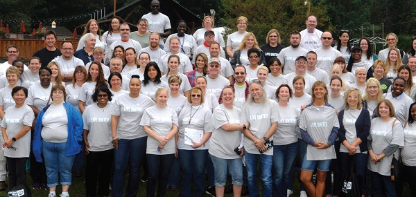 Photo Courtesy / UnitedWayMonroe.org Volunteers from United Way's 2017 Day of Caring.
