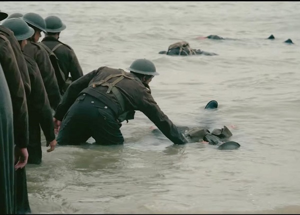 "Still Image via Warner Bros. Pictures ""Dunkirk"" has a haunting and emotional take on World War II."