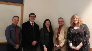 Photo Credit / Laura Null ESU professors involved in new communications program.