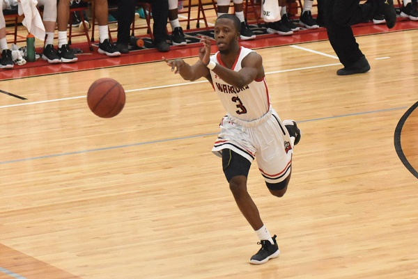 Photo Credit / Ronald Hanaki Redshirt-junior guard Jakwan Jones is second in the PSAC with 6.3 assists per game.