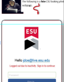 Email Phishing Scam Targets ESU Students - The Stroud Courier